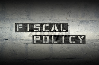 fiscal policy GR