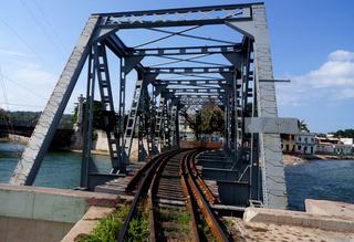 Eisenbahnbrücke,Matanzas,Kuba