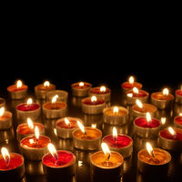 Candlelight - Many burning candles