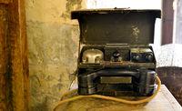 vintage army phone