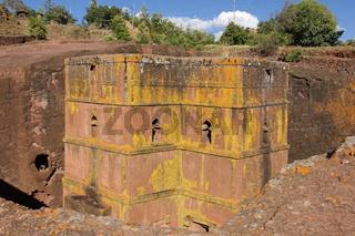 Felsenkirche, Lalibela, Äthiopien, Afrika