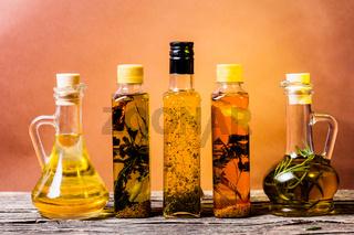 Spicy oils set
