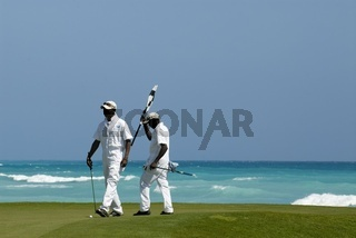 Golfplatz in Punta Cana Dominikanische Republik