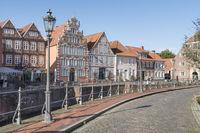 Historische Altstadt von Stade in Niedersachsen