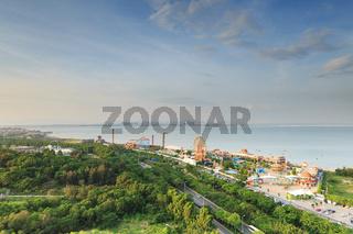 Xiamen Guanyin Mountain Beach,Water World