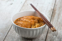 Asian food Curry Laksa Noodles