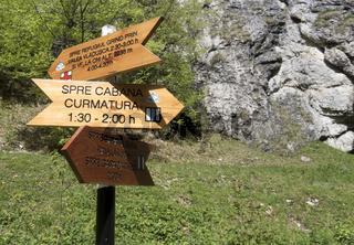 Königstein-Gebirge, Klamm, Karpaten, Siebenbürgen, Rumänien
