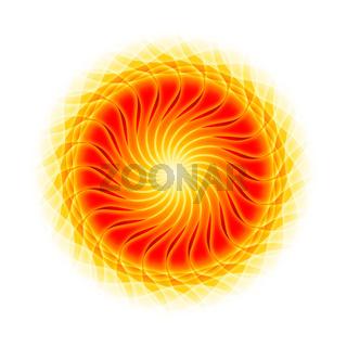Zentrum der Energie - Mandala