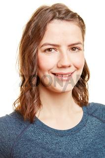 Bewwerbungsfoto einer jungen Frau