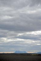Blick zum Herdubreid, Island