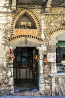 Ancient Shop In The Village Of Taormina Italy