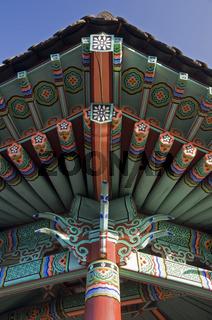 Traditionelles Dach, Südkorea