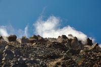 Steam activity in New Zealand