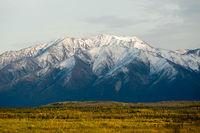 Big Winter Mountain Fall Season Alaska