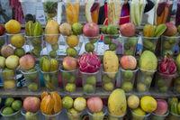 LAOS LUANG PRABANG MARKET FRUITS