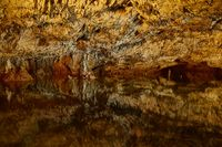 Limestone Cave with Lake