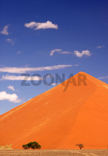 Dünen in der Namib-Wüste, Namibia; dunes in the Namib-desert