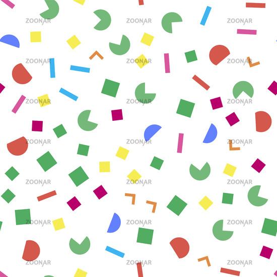 Colorful geometric seamless pattern