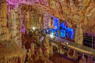 Sfendoni or Zoniana cave on Crete, Greece