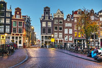 Amsterdam city view