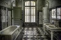 vergessenes Badezimmer