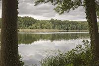 Am Dagowsee in der Uckermark, Ostdeutschland