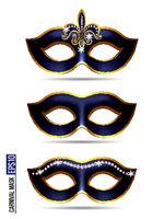 Set of Carnival Mask