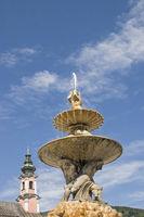Detail des Residenzbrunnens