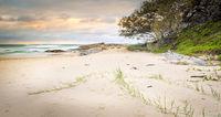 Stradbroke Island Beach Sunrise