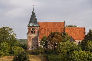 Kirche Kirchturm Bobbin Mecklenburg