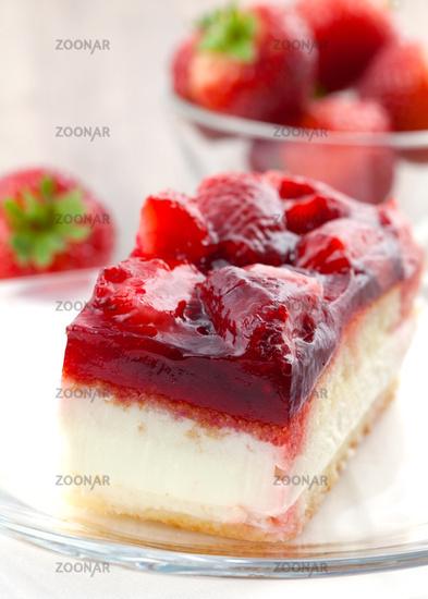 Foto Erdbeer Sahne Kuchen Strawberry Cream Cake Bild 1952746