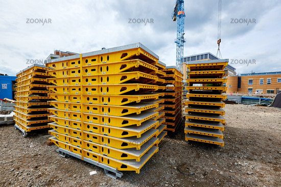 Foto Decken Und Wand Verschalung Auf Der Baustelle Bild 10533200