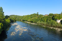 River the Dordogne