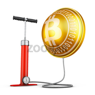 Pump and inflated  Bitcoins