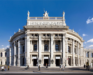 The Burgtheater of Vienna - Austria