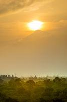 Volcan Tajumulco Guatemala Sunset