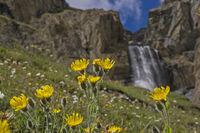Wasserfall im Gran Paradisogebiet