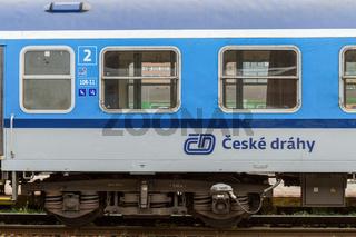 Tschechischer Schnellzug
