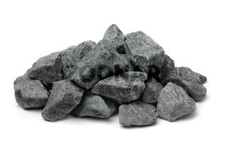 Pile of crushed granite