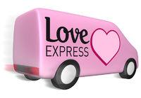 Lieferwagen love express