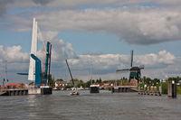 Meerkerkbrug mit Mühle