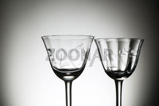Weingläser aus den 60iger Jahren