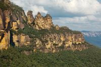 The Three Sisters in the Blue mountains