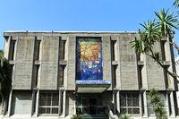 Eingang zum Nationalmuseum, Addis Abeba, Äthiopien