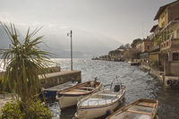 Limone sul Garda am Lago di Garda