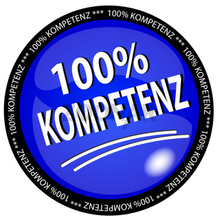 100% Kompetenz Button