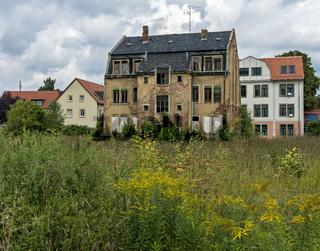 verfallene Immobilie