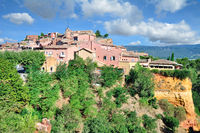 Roussillon in der Provence,Frankreich