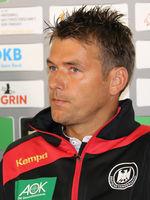 DHB-Bundestrainer Herren Christian Prokop beim DHB Medientag am 10.10.2017 in Magdeburg