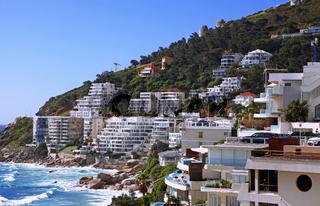 Blick auf Kapstadts Küste, Südafrika, Coast of Cape Town, South Africa